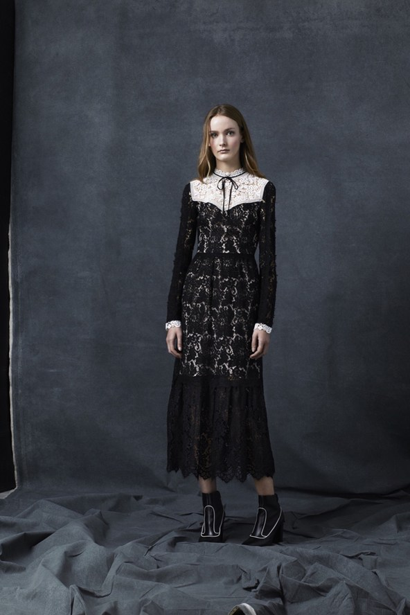 Gothic Look from Erdem